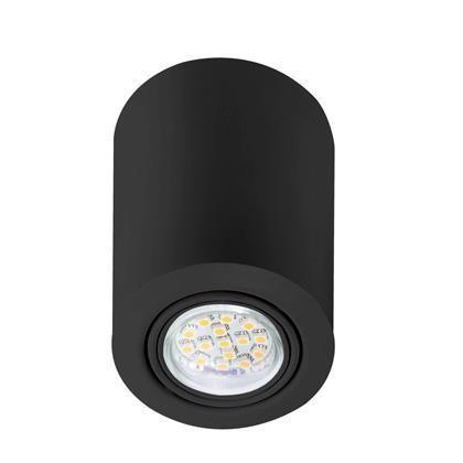 Spot modern aplicat Nota negru 77750103NL, Spoturi incastrate, aplicate - tavan / perete, Corpuri de iluminat, lustre, aplice a