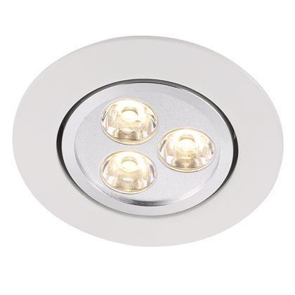 Spot orientabil incastrat LED Raven alb 79000001NL, Spoturi LED incastrate, aplicate, Corpuri de iluminat, lustre, aplice a