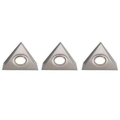 Set 3 spoturi aplicate Triangel 77927133NL, Spoturi incastrate, aplicate - tavan / perete, Corpuri de iluminat, lustre, aplice a